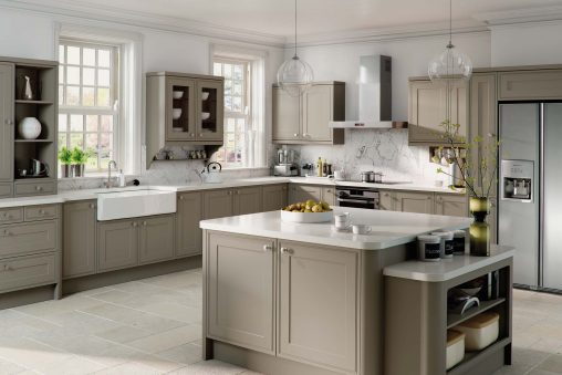 Kitchen Collection - Tullymore Stone Grey Kitchen Doors